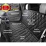 Fragralley Dog Seat Cover Unique Design & Detachable Sherpa Fleece Mat – Ultimate Pet Back Seat Covers for Cars, Trucks… 12