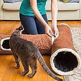 Interaktives Katzentunnel-Spielzeug – Bestens geeignet für verspielte Katzen und Katzenbabys - 7