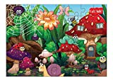 #6: Kidz Valle Bugworld 48 Pieces Tiling Puzzles (Jigsaw Puzzles, Puzzles for Kids, Floor Puzzles), Puzzles for Kids Age 4 Years and Above.