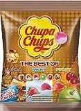 Chupa Chups Lollipops The Best Of, Sucettes, Différentes Variétés, 250 Pièces, 3 kg