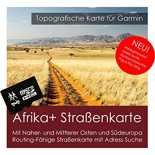 Afrika & Mittlerer Osten GPS Karte Garmin - 8GB microSD. Navigationsgeräte, PC & MAC