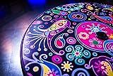 Stehtisch Quick Table Design Floral, Stehbiertisch, Bistrotisch -