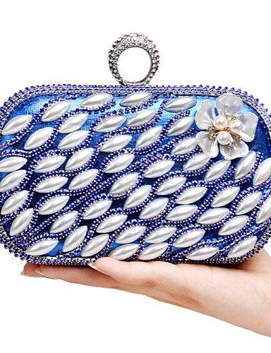 limon-t-l-west-de-la-mujer-elegante-lujo-hecho-a-mano-pearl-diamantes-la-flor-bolsa-de-noche-azul