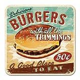 Nostalgic-Art 46112 USA Burgers, Untersetzer