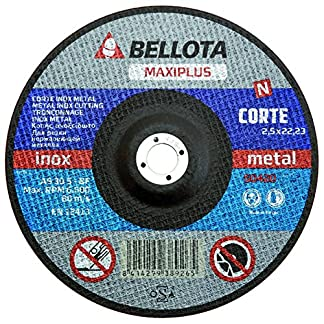 Bellota 50420-230 DISCO ABRASIVO MAXIPLUS CORTE INOX METAL 230MM