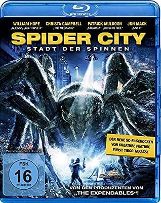 Spider City - Stadt der Spinnen [Blu-ray]