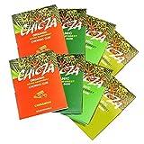 ChicZa Bio-Kaugummi 2x Set 4 Sorten (2 je Sorte, insgesamt 8 Tafeln) Minze, Spearmint, Zimt, Limone (bio, vegan) Setx2