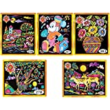 Asian Hobby Crafts Emboss Painting Kit (Pack of 5)