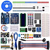 Kuman Project Super Starter Kit for Arduino with German Tutorial UNO R3 Mega2560 Mega328 Nano kits including R3 Board mit deutschem Tutorial K4