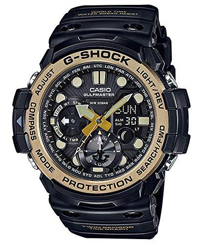 Los Hombres de la Casio G-Shock Master de G Series Negro y Vintage Ton