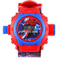 SELLORIA Digital Boy's Watch (Red Dial Red Colored Strap)