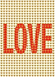Postkarte A6 +++ LUSTIG von modern times +++ LOVE +++ MODERN TIMES © DSA
