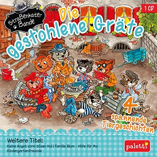 Kinder CD Die gestohlene Gräte, mit der Straßenkaterbande und dem Otter Muschelin uva. Hörbuch (Die Geschichte Der Teddy Bären)
