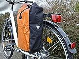Gravidus Fahrradtasche aus Tarpaulin, Wasserdicht (Orange)