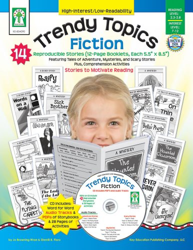Trendy Topics: Fiction [With CDROM] (High-Interest/Low-Readability)