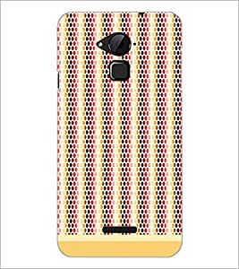 PrintDhaba Dot Pattern D-1474 Back Case Cover for COOLPAD NOTE 3 LITE (Multi-Coloured)