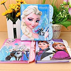 My Party Suppliers Girl Elsa Anna password notepad (Set of 1)