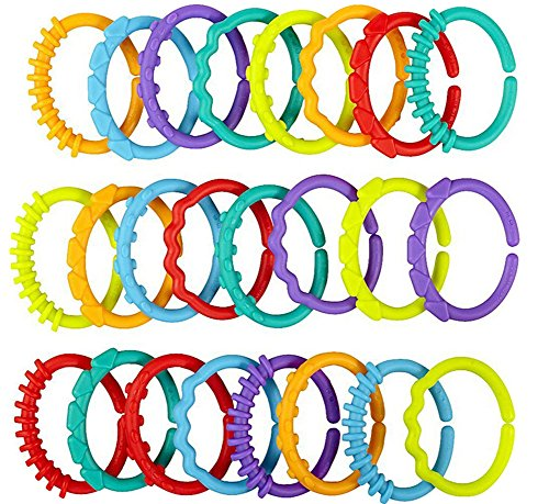 vwh-24pcs-textur-lernen-baby-rassel-und-beissring-ring-o-verbindungen-rattle-entwicklungsspielzeug-v