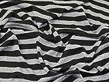 Gestreift Weich & Kuschelig Stretch Jersey Knit Kleid Stoff