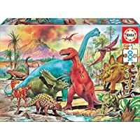 Educa Borras Dinosaurs Puzzle (100 Pieces)