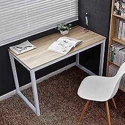 WV LeisureMaster Estudio y Trabajo Simple mesa de escritorio del ordenador para Niños Adultos Haya 120 x 60 x 75 cm