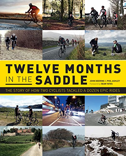 Twelve Months in the Saddle por John Deering