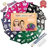 Emooqi Tattoo Schablonen für Kinder