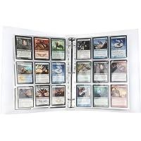 Lictin Raccoglitore Carte - Card Binder 30 Pagine,Maximum 540 Cards per Carte da Gioco Collezionabili,Trasparente con…