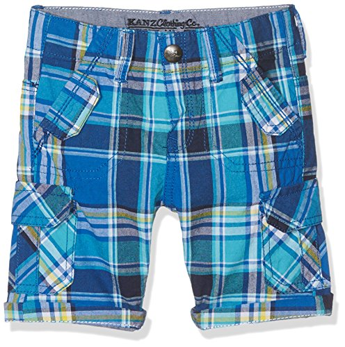 Check Bermuda Shorts (Kanz Jungen Shorts Bermudas, Mehrfarbig (Y/D Check 0002), 98)