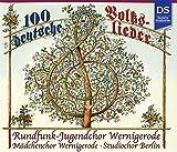 100 Deutsche Volkslieder [Import allemand]