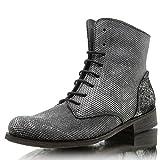 A270 Beja Mamba+Gold black/silver+black Größe: EU39 Farbe: black/silver + black