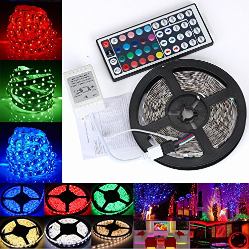 Zoom IMG-1 hupoop 5m 3528 rgb led