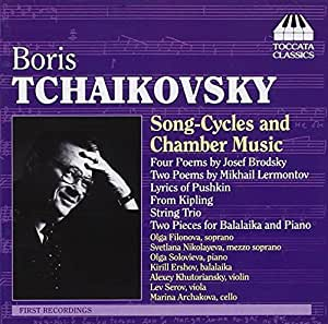 Tchaikovsky Song Cycles