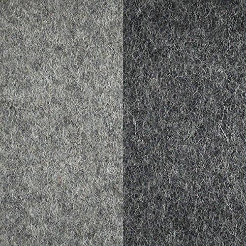 Pantoffel aus Filz (100% Wolle) von i.Punkt, Größe 37/38 double