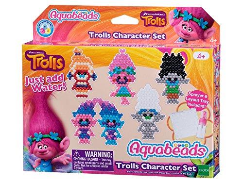 Preisvergleich Produktbild Aquabeads - 31288 - Trolls Figurenset, Bastelset für Kinder