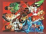 Mongolei 2592-2600 Kleinbogen (kompl.Ausg.) 1995 Elvis Presley (Briefmarken für Sammler)