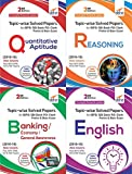 Topic-wise Solved Papers for IBPS/SBI Bank PO/Clerk Prelim & Main Exam (2010-18) Reasoning/Quantitative Aptitude/English/General Knowledge