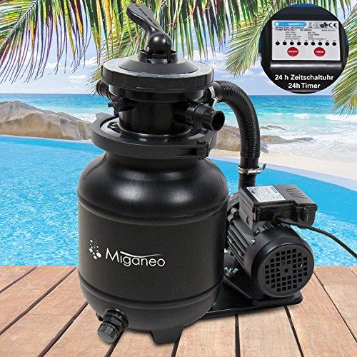 Miganeo Sandfilteranlage Dynamic 7000 – mit integrierter Zeitschaltuhr - 2