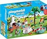 Playmobil Casa Moderna Fiesta en el Jardín, multicolor (9272)