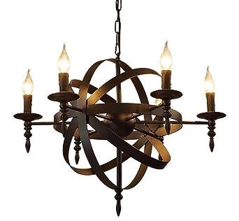Kronleuchter Kerzen Pendel Industrielampe Pendelleuchte Wohnzimmerlampe Industrie Lampe Vintage Retro Alt Eisen Schwarz Blle Mit Schmiedeeisen Leuchter Usa