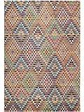 Benuta Teppich Casa, Kunstfaser, Multicolor, 160 x 230.0 x 2 cm