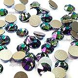 Crystal Paradise Shine (001parsh) Swarovski Elements 2088Xirius, Kristallgröße SS20flach Rücken Strass Nail Art 4,7mm SS20, * * kostenfrei Versand aus Jet (280) * *