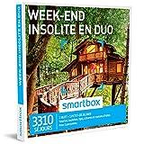 SMARTBOX - Coffret Cadeau - WEEK-END INSOLITE EN DUO - 3310 séjours en yourte, roulotte, tipi, cabane et maison d'hôtes