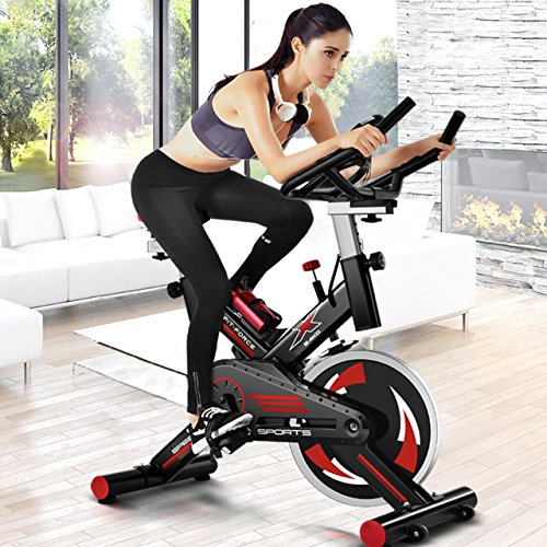 Bici spinning Fit-Force X24KG con...