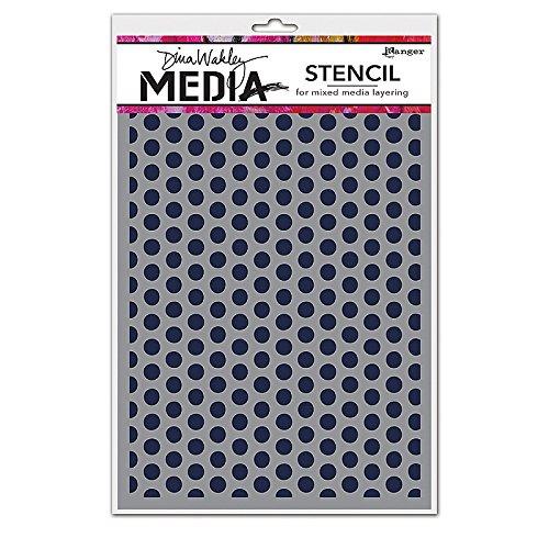 ranger-mds52432-dina-wakley-media-stencils-multi-colour-9-x-6-inch
