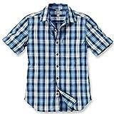 Carhartt Workwear Arbeitshemd - Slim Fit Plaid Shirt - Blau (L)