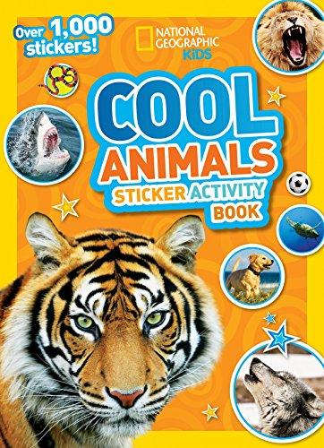 Cool Animals Sticker Activity Book [With Sticker(s)] por National Geographic Kids