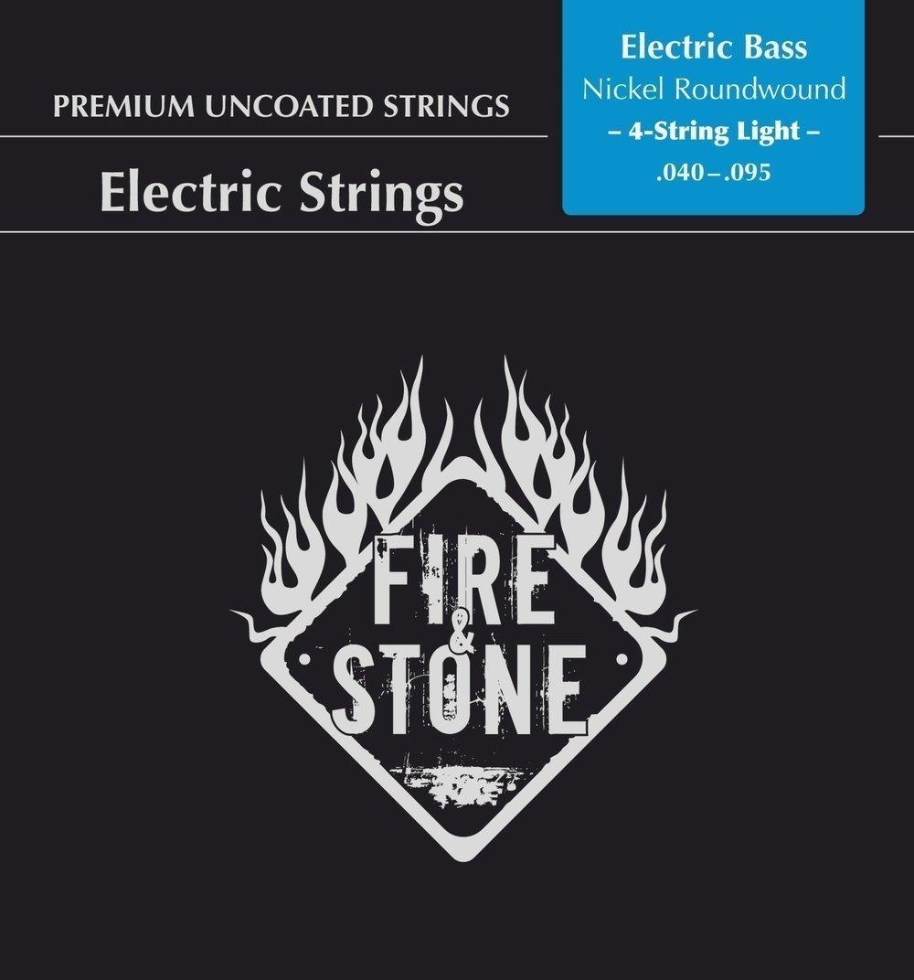 Fire&Stone Corde per basso elettrico Nickel Alloy 'Set'