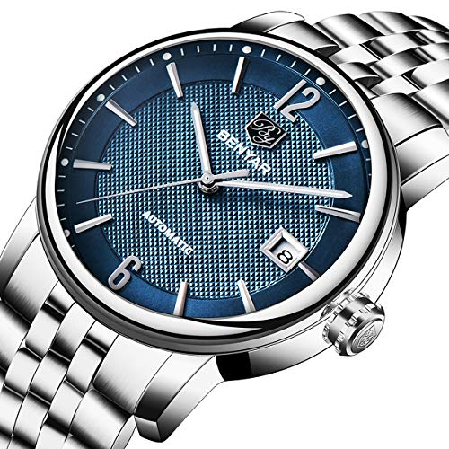 Benyar orologio da uomo Business classico display analogico e cinturino in...