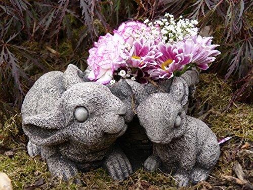 Coniglio/Coniglio, decorazione da giardino, in (Easter Bunny Ornamento)